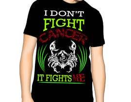 nº 11 pour Design a Typography T-Shirt for the Zodiac Cancer par Freelancerboy11