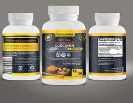 nº 32 pour Design Product Label For Vitamin Bottle par ericsatya233