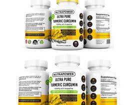 nº 69 pour Design Product Label For Vitamin Bottle par Creoeuvre
