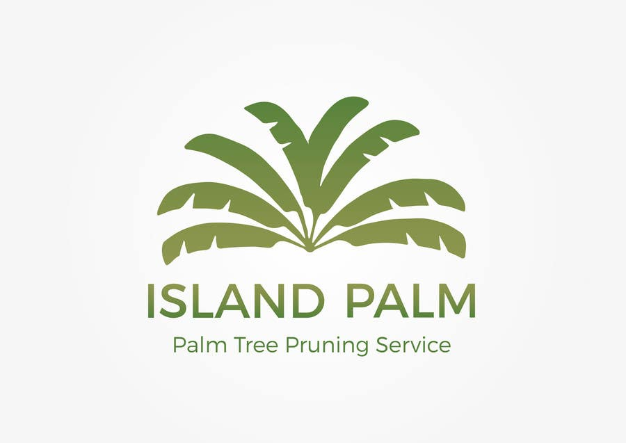 Proposition n°39 du concours Develop logo and name for palm tree cutting business.
