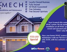 nº 23 pour Design a Flyer for our HVAC (Heating and Cooling) Company par milamchad