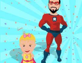 nº 4 pour Personalized superhero drawing par MhmdAbdoh