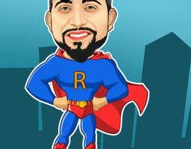 nº 6 pour Personalized superhero drawing par kaliuser54
