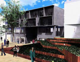 nº 4 pour I require a Rendered building image to be taken into Photoshop to made look more realsitic par gregproyectargao