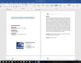 nº 1 pour Design a Word template par kabapy