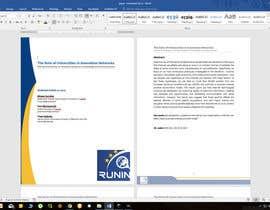 nº 2 pour Design a Word template par kabapy