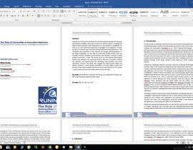 nº 3 pour Design a Word template par kabapy