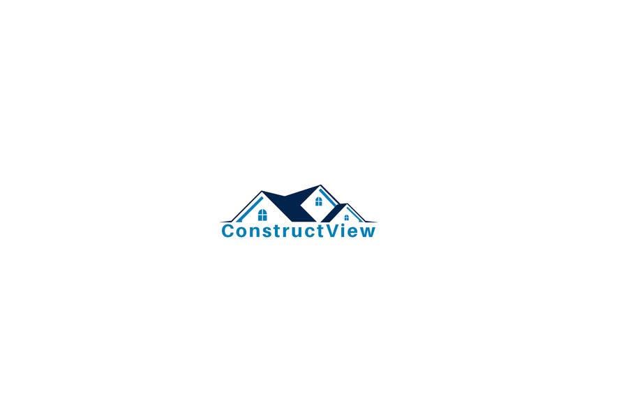 Proposition n°209 du concours ConstructView Logo