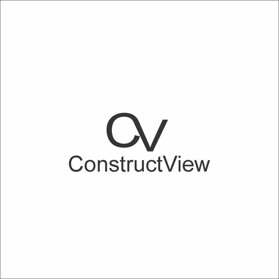 Proposition n°172 du concours ConstructView Logo