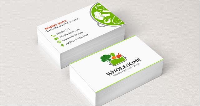 Penyertaan Peraduan #                                        49                                      untuk                                         Design Logo and Business Cards for New Company