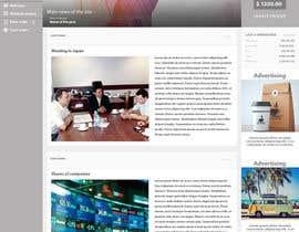 nº 11 pour Design a Website Mockup par whyssonstudio