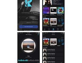 nº 9 pour Design an App Mockup par bimaptra30