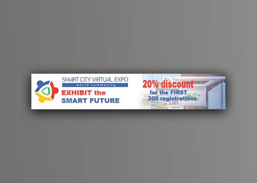 Proposition n°18 du concours Smart City Virtual Expo banner