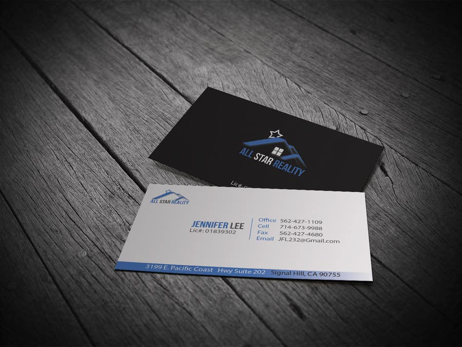 Proposition n°211 du concours Business Card Design for Real Estate Office