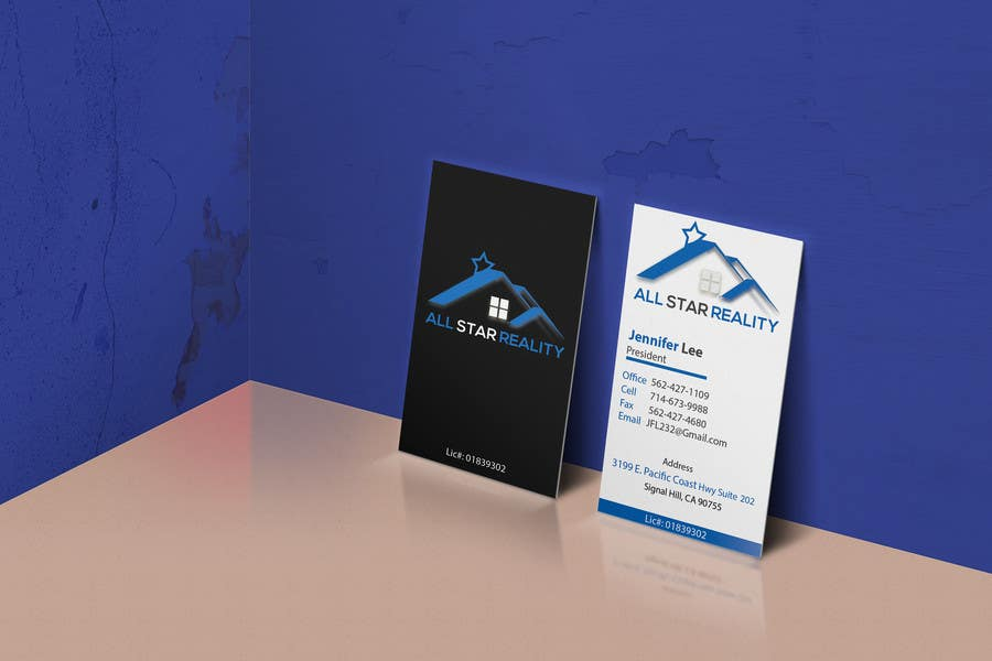 Proposition n°239 du concours Business Card Design for Real Estate Office