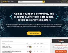 nº 38 pour Indie Game Developer Banner par rayhansumon