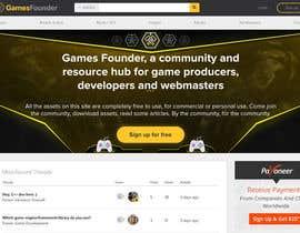 nº 39 pour Indie Game Developer Banner par rayhansumon