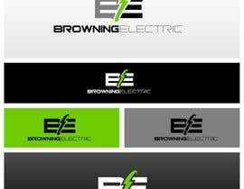 #61 para Logo Design for Browning Electric Company Inc. por maidenbrands