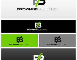 #2 untuk Logo Design for Browning Electric Company Inc. oleh maidenbrands