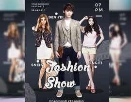 nº 68 pour Design a Flyer for a Fashion Show par joymarma11