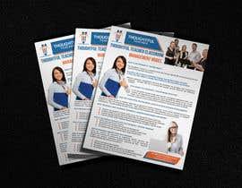 nº 9 pour Thoughtful Teacher One-Page Ad par thranawins