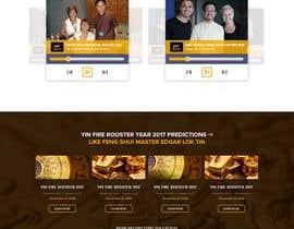 nº 10 pour Design a Website Mockup par pradeep9266
