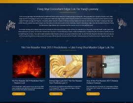 nº 14 pour Design a Website Mockup par webiculestech