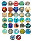 Proposition n° 4 du concours Graphic Design pour Disegnare alcune Icone che rappresentino stili di vita ed attività varie per sito html - Draw some icons that represent different lifestyles and activities for a html site