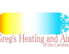 nº 9 pour Gregs Heating and Air Logo par Dinaripo