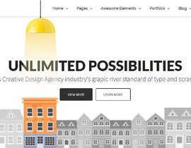 nº 11 pour Design for a website header par yulika2003