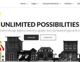 nº 8 pour Design for a website header par mfyad
