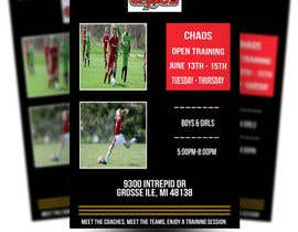 nº 3 pour URGENT Design a Flyer Advertising Open Training for our Club par nayyab1117