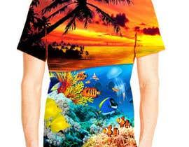 nº 22 pour T shirt fishing Graphic Design par sandisetiawan