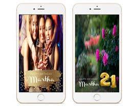 nº 10 pour Design a Birthday Snapchat Filter par syedshaif