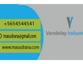 #195 for Design business cards by masudrana8565