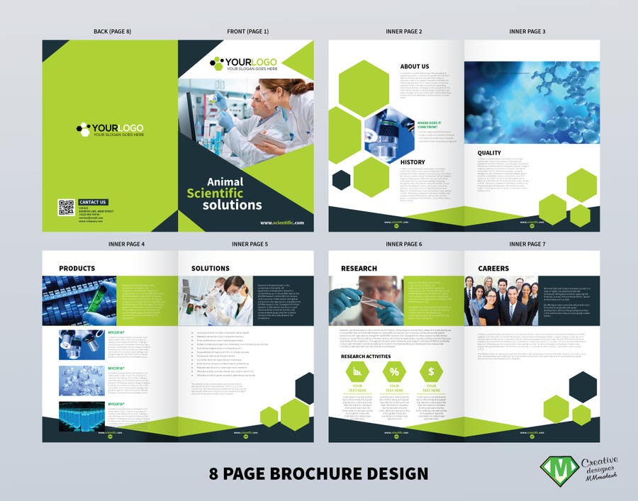 Proposition n°1 du concours scientific brochure