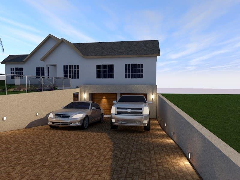 Proposition n°16 du concours House Exterior Render