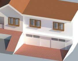 nº 7 pour House Exterior Render par lmendez1