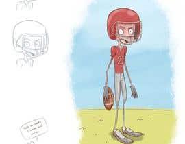 nº 9 pour Illustrator for sports-themed children's book needed par mainimeny