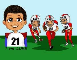 nº 18 pour Illustrator for sports-themed children's book needed par dedesubeng