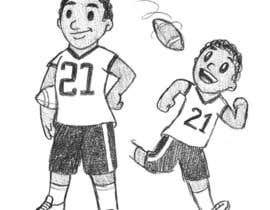 nº 2 pour Illustrator for sports-themed children's book needed par AlexGilBle