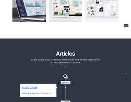 nº 25 pour Design a Website Mockup par maksimaskuzminas