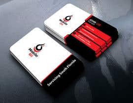 nº 29 pour Design some Business Cards for a Mobile Oil Change Company par GDesignerAsif