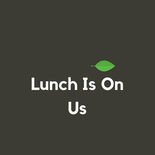 Proposition n°679 du concours Lunch Is On Us Logo