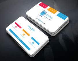 nº 15 pour business cards for mobile repair and parts sales par jisu