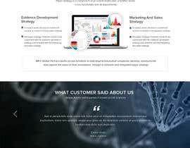 nº 18 pour Design a Website Mockup par atikul11