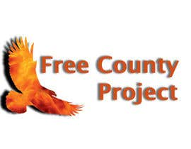 nº 5 pour Logo for the Free County Project par TanimTan