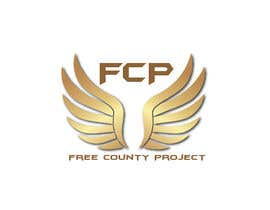 nº 15 pour Logo for the Free County Project par KimA95