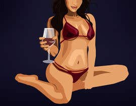 nº 9 pour Illustrate  Latina girl. par MEDVEDYk