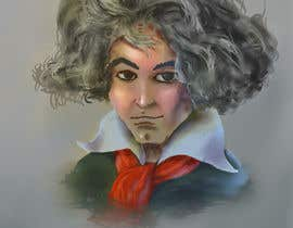 nº 23 pour Cartoonize Classical composers par sharonjose77